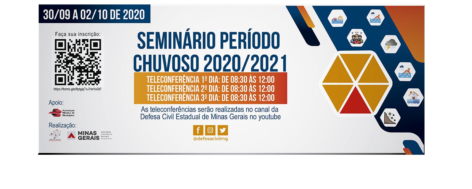 Seminário Periodo Chuvoso 2020-2021